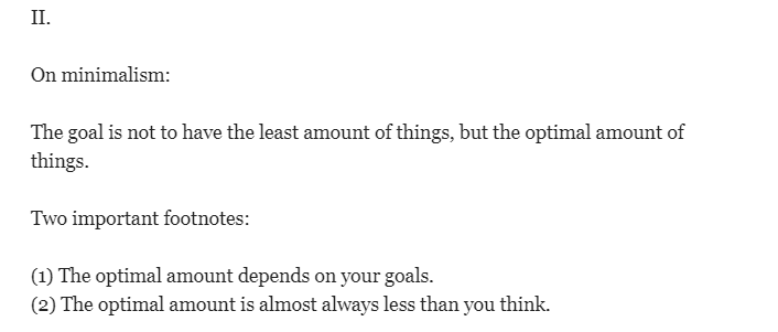جيمس كلير (مؤلف كتاب العادات الذرية) يعرض مفهومه عن التقليلية
