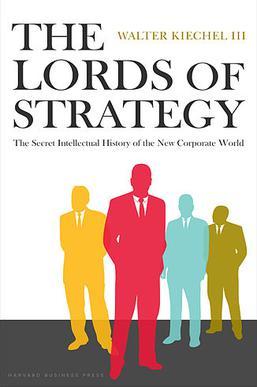 غلاف كتاب أرباب الاستراتيجية