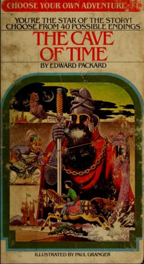 كهف الزمن (1979) أول عدد من سلسلة (اختر مغامرتك بنفسك)