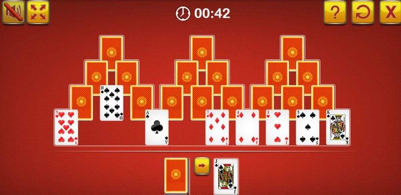 لقطة شاشة من لعبة ترايبيكس